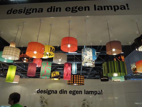 ensemble des lamps