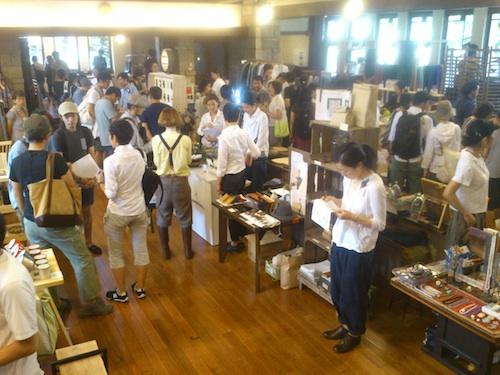 For Stockists Exhibition 2012 @ Jiyu Gakuen in Tokyo