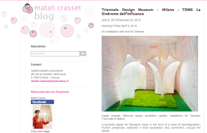 Matali Crasset blog