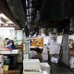 築地市場 Tsukiji fish market