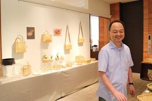 Ken'ichi Otani, bamboo craftsman of Beppu