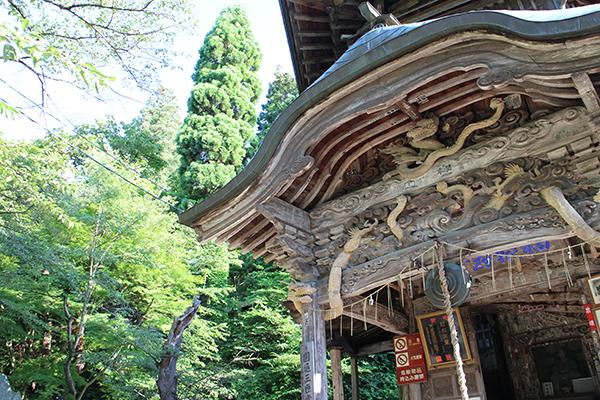 Sazaedo Pagoda さざえ堂