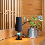 Urushi Ball lamp by M design