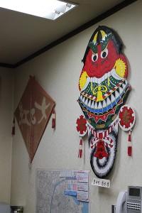 Baramon kite by Mr. Shimizu from Goto islands