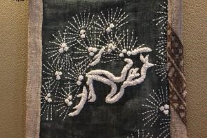 Sashiko needlework by Yumiko Takabayashi 高林由美子